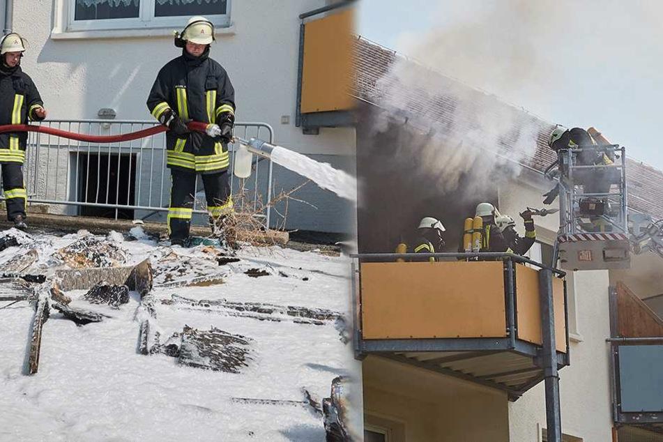 Wohnung in Mehrfamilienhaus nach Brand unbewohnbar