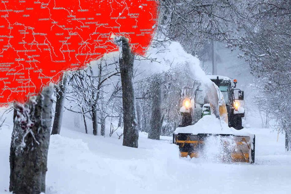 Alarmstufe Rot! Warnung vor neuem Schnee und Sturm