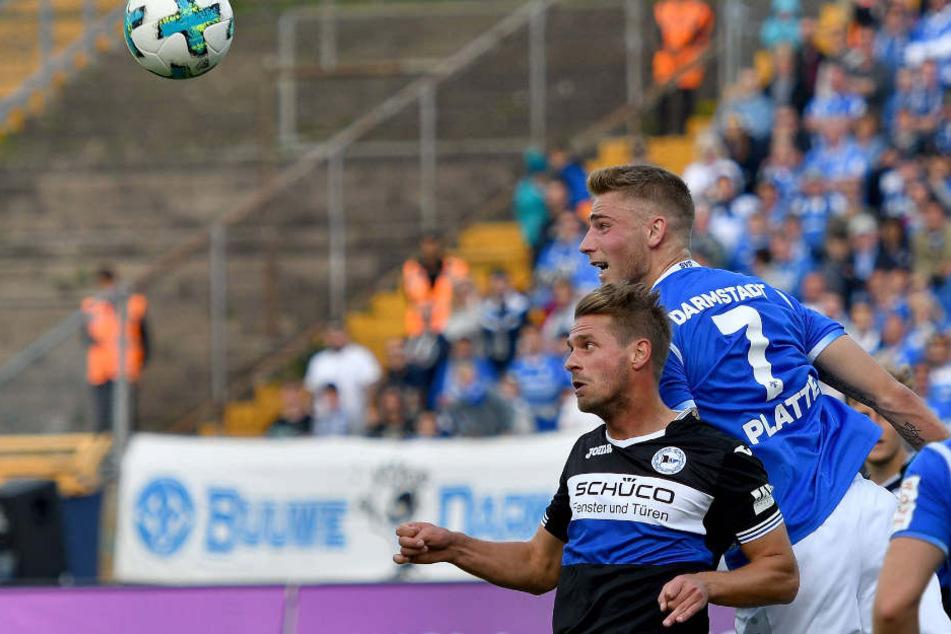 In Darmstadt gelang Sören Brandy sein bisher einziger Treffer.
