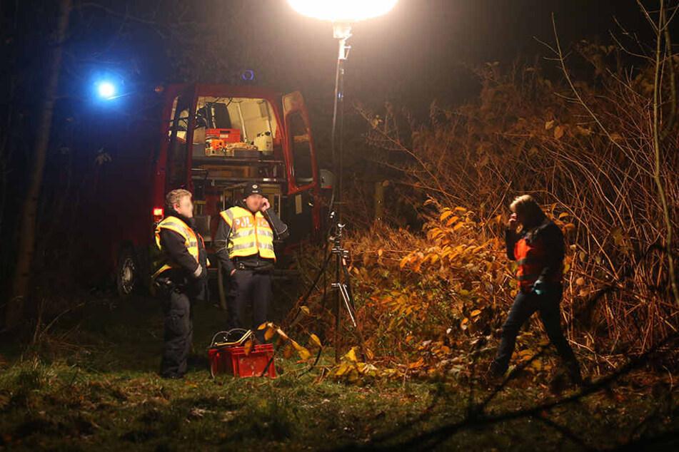 Der Tote wurde am Montagnachmittag in einem Gebüsch entdeckt.