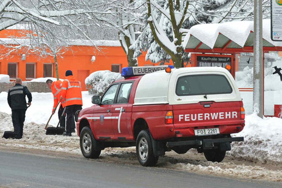 Die Freiberger Feuerwehr ist aktuell im Dauereinsatz.