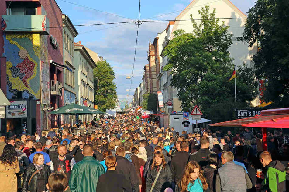 Die Bunte Republik Neustadt (BRN) findet auch 2017 statt.
