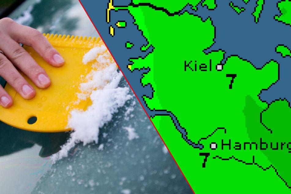 Eiskratzen? So wird das Wetter zum Wochenstart in Hamburg