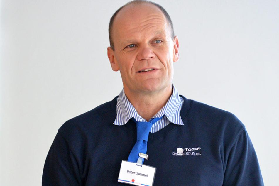 Peter Simmel (57) will am Hauptbahnhof ein neues Einkaufszentrum bauen.