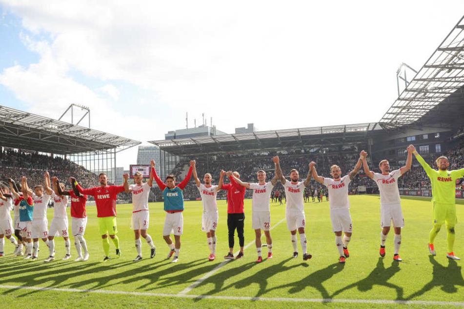Köln gewann am 2. September 2018 spektakulär mit 5:3 beim FC St. Pauli.
