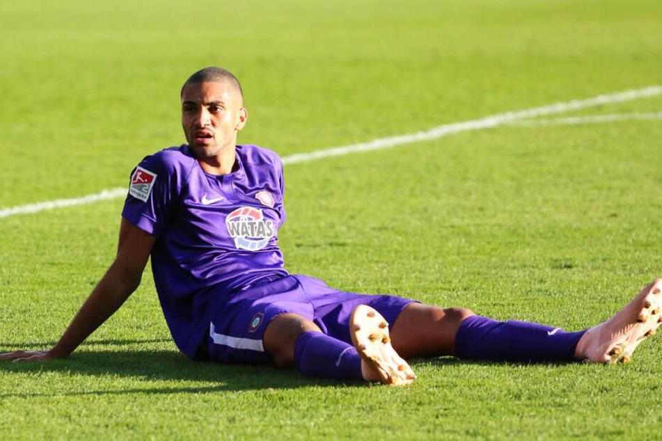 Malcolm Cacutalua ist endlich wieder eine Option für den FC Erzgebirge Aue.
