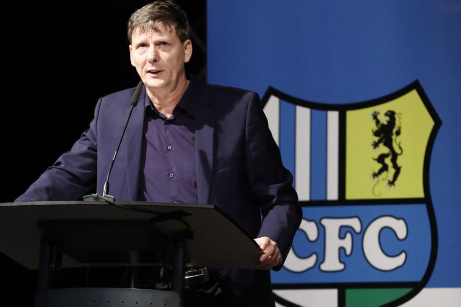 CFC-Aufsichtsratschef Uwe Bauch.
