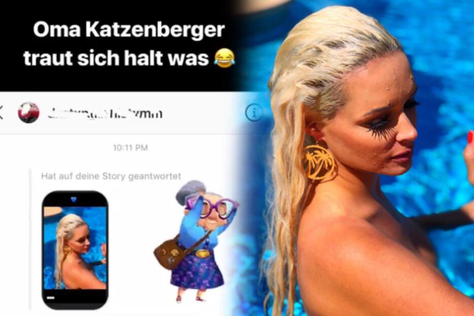 """""""Oma Katzenberger"""": So witzig reagiert Daniela auf eine Fan-Nachricht"""