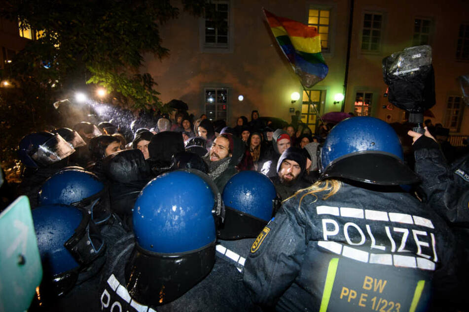 Nach der Tat war es zu Demos in Freiburg gekommen.