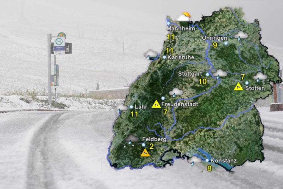 Wetter in Baden-Württemberg: Es könnte Schnee fallen!