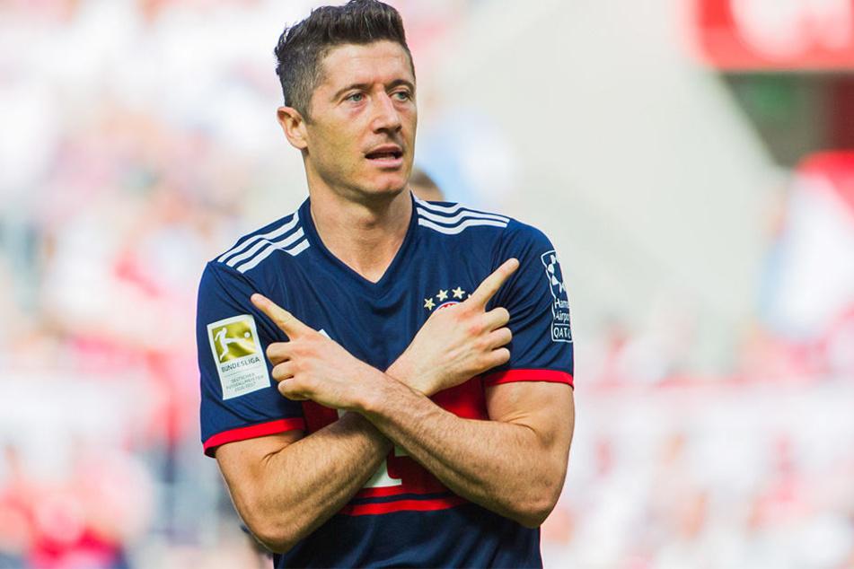 """Robert Lewandowski nennt sich manchmal """"Emil""""."""