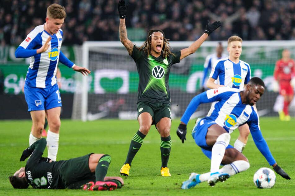 Hertha und Wolfsburg lieferten sich ein umkämpftes Spiel, in dem spielerische Highlights und Torraumszenen aber lange Zeit Mangelware blieben.