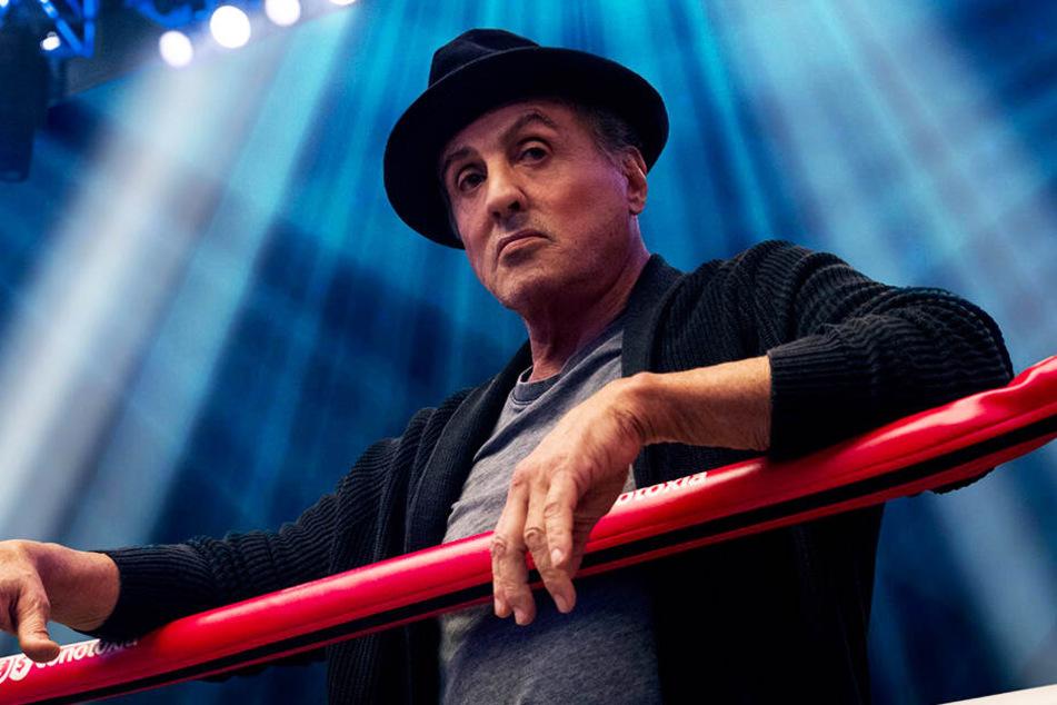 """Sylvester Stallone wird in """"Creed II"""" von Jürgen Prochnow vertont, mit dem er in """"Judge Dredd"""" gemeinsam vor der Kamera stand."""