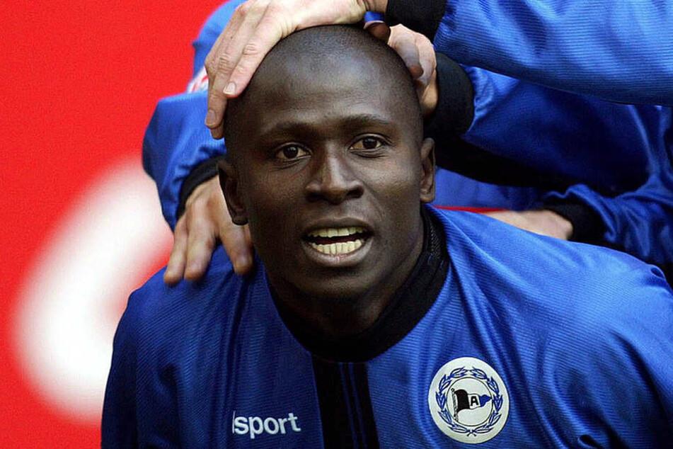 """Von 2000 bis 2003 spielte Mamadou """"Momo"""" Diabang im DSC-Trikot."""