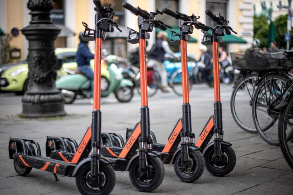 E-Scooter gehören in München seit Juni 2019 zum Stadtbild.