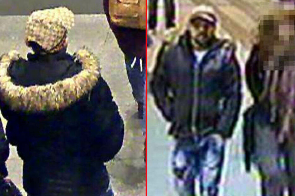 Mit diesen Bildern sucht die Polizei nach dem Mann.