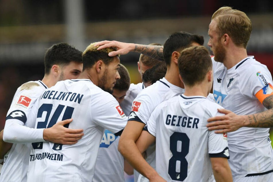 Die Hoffenheimer gewannen ihr letztes Bundesligaspiel beim SC Freiburg mit 4:2.