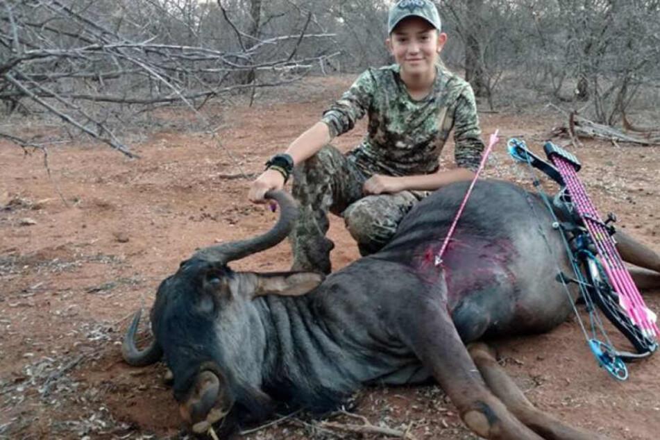 Aryanna Gourdin hat eine große Leidenschaft. Es ist die wilde Jagd auf Tiere.