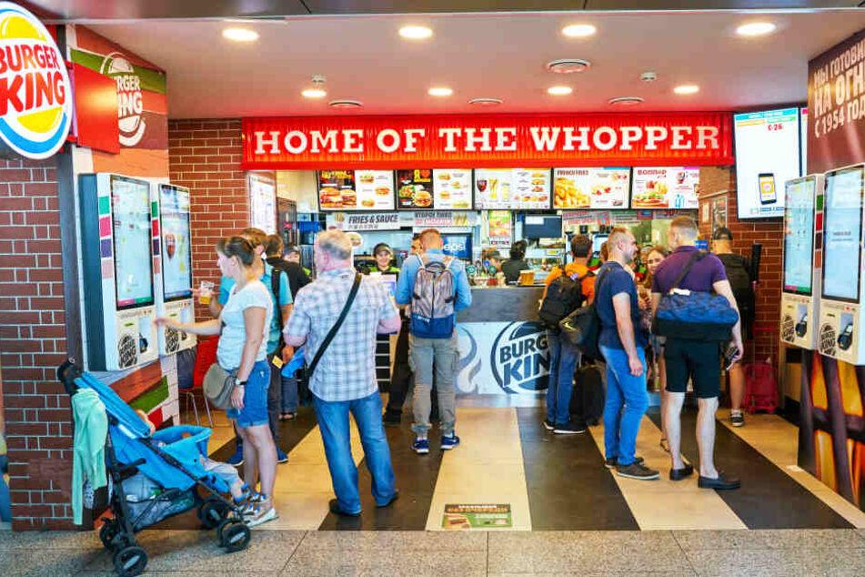 Ein Burger King-Restaurant von innen (Symbolbild).