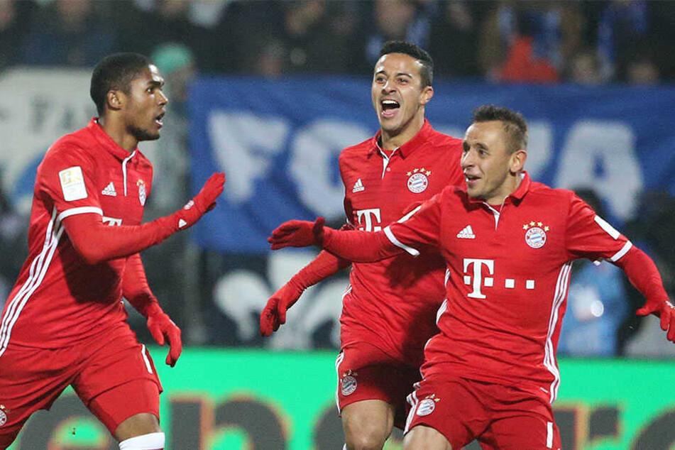 Dürfen die Münchner Bayern heute abend jubeln?