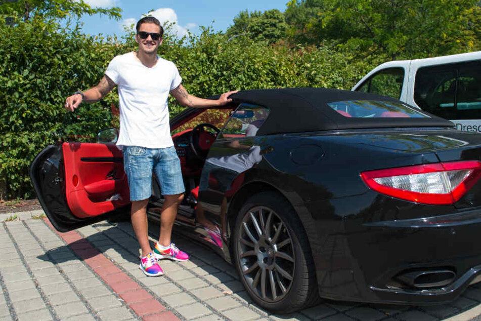 Im Sommer 2015 fuhr Pascal Testroet noch einen 500 PS-starken Maserati.