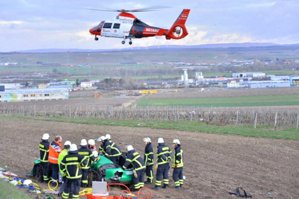 Der Rettungshubschrauber brachte den Schwerverletzten in die Uniklinik nach Mainz.