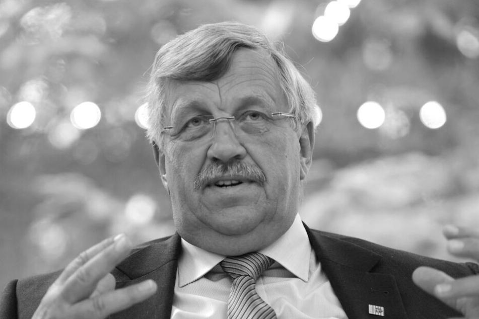Kassels Regierungspräsident Walter Lübcke ist im Alter von 65 Jahren in der Nacht zu Sonntag unerwartet gestorben