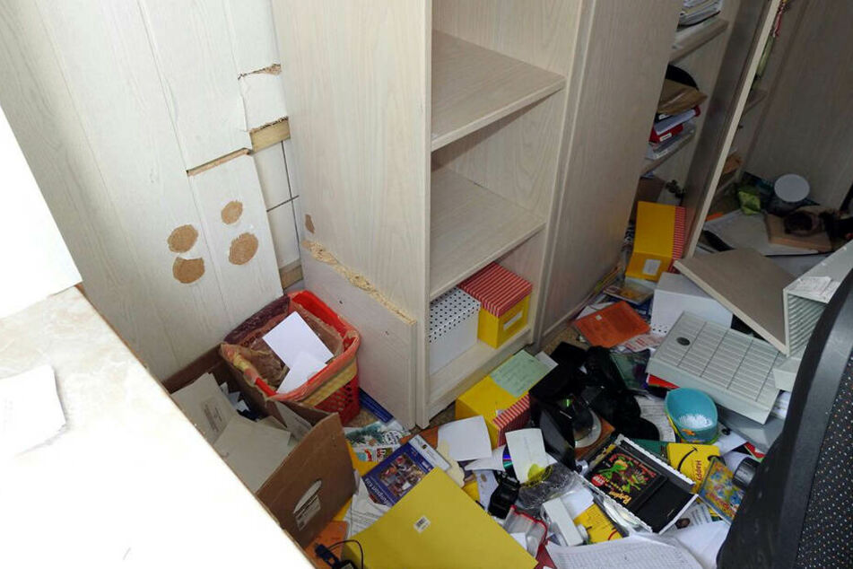 Die Einbrecher nahmen den Tresor aus dem Büro der Kita-Leiterin mit.