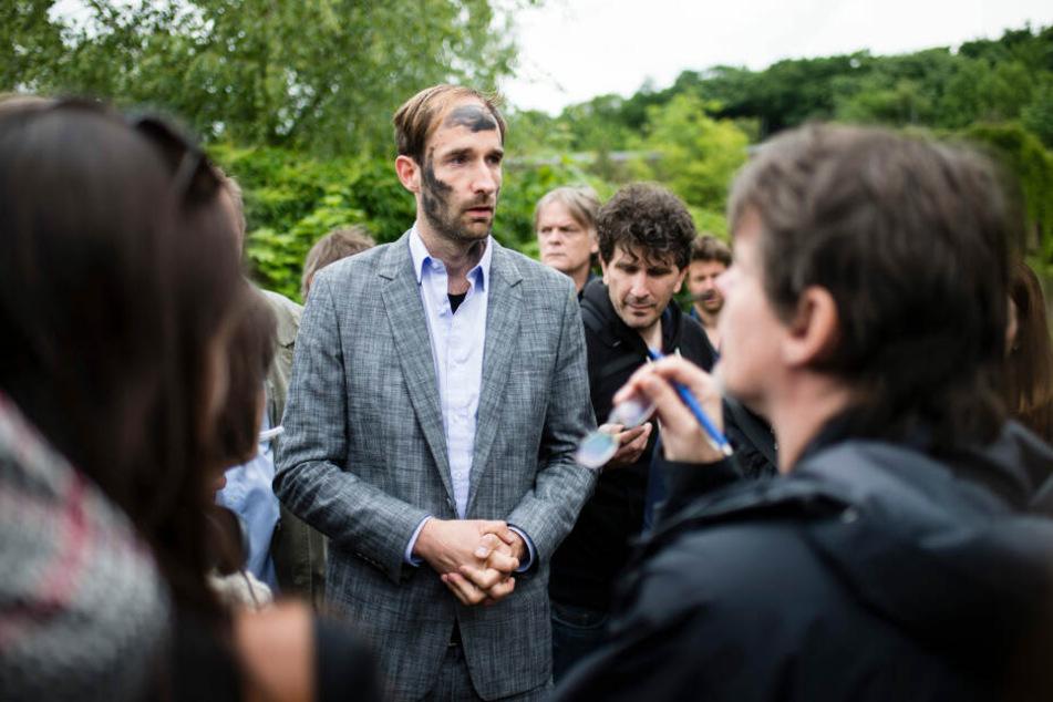 Philipp Ruch ist der künstlerische Leiter der Gruppe.