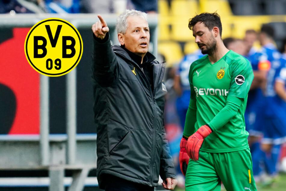 BVB-Coach Favre verwundert mit Torwartwechsel: Wer steht im Derby im Kasten?