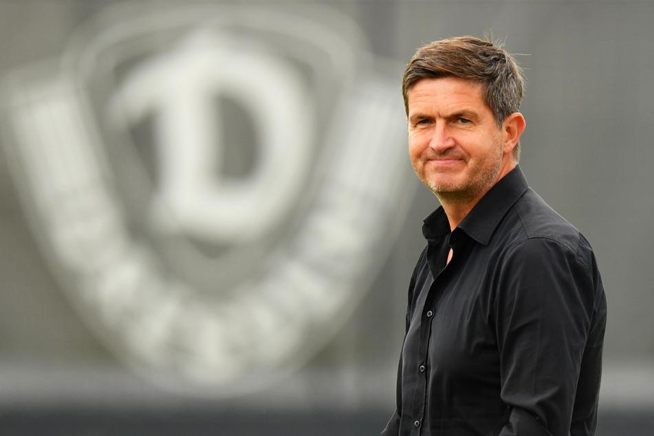Dynamos Sportgeschäftsführer Ralf Becker (50) hat trotz der ersten Niederlage seinen Optimismus nicht verloren. Er sieht Dynamo gut gerüstet.