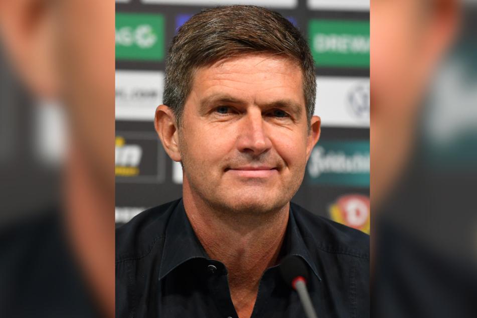 Dynamos Sportgeschäftsführer Ralf Becker und die weiteren Verantwortlichen kämpfen weiter.