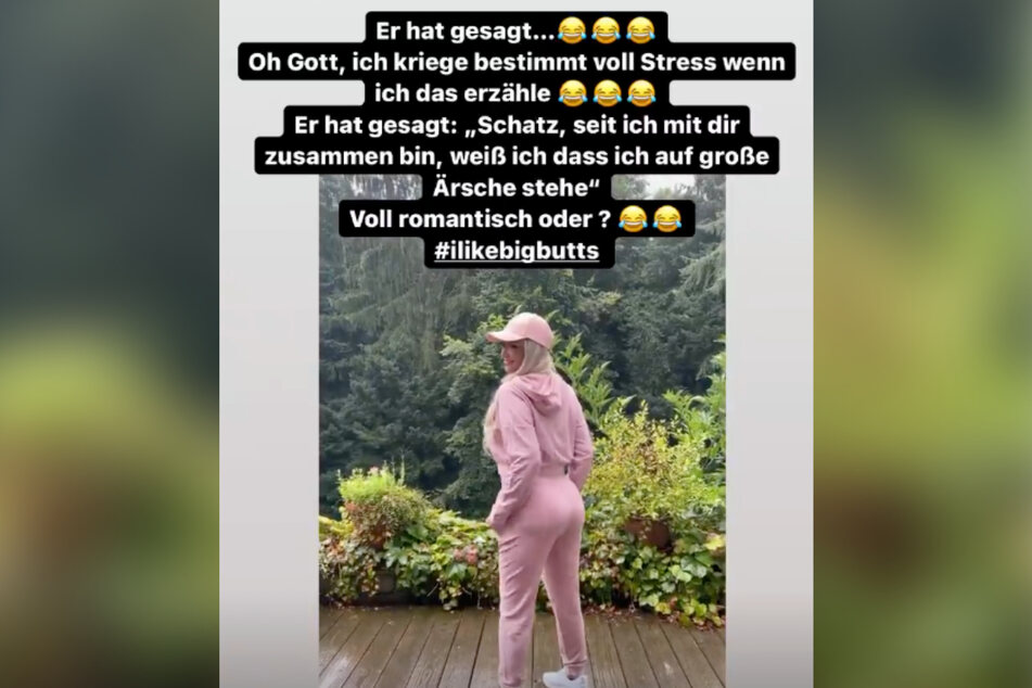Romantik im Hause Katzenberger/Cordalis.