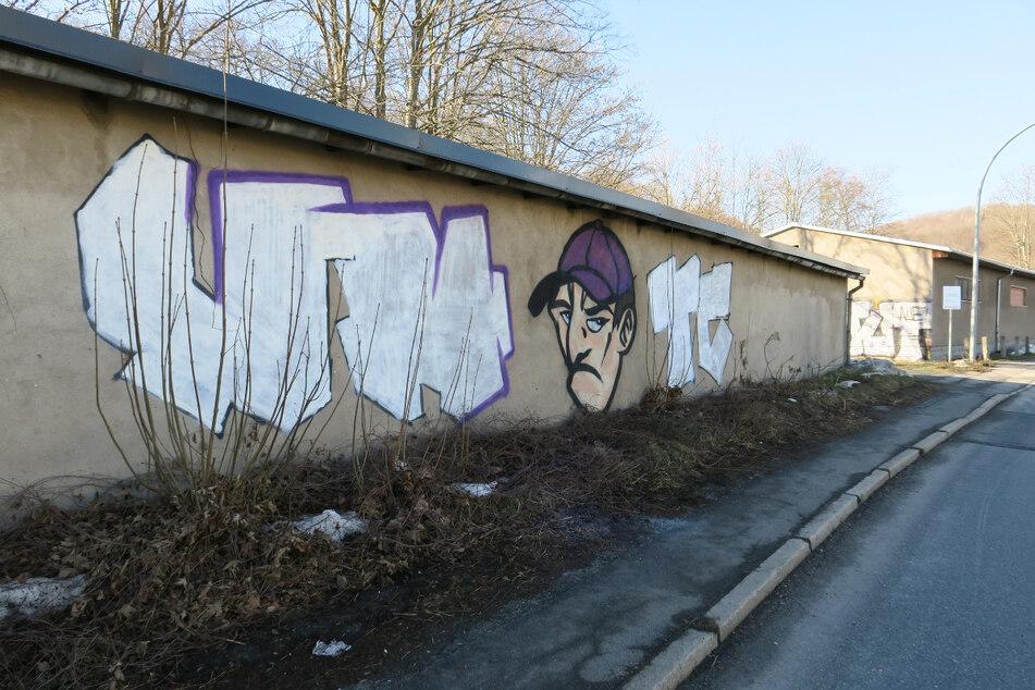 Eiskalt erwischt: Graffiti-Sprayer flüchtet durch Fluss vor Polizei