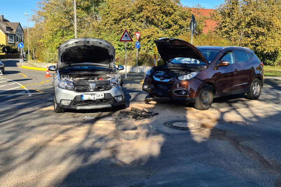 Unfall endet mit 13.000 Euro Schaden in Leipzig!
