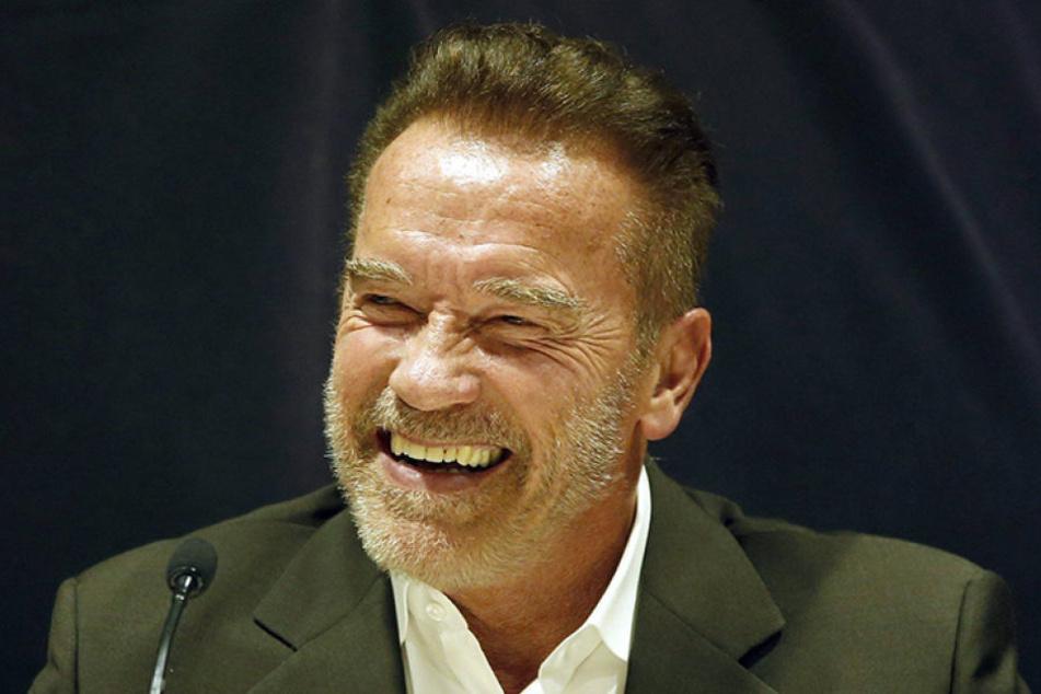 Arnold Schwarzenegger (69) wurde am Münchner Hauptbahnhof von der Polizei angehalten.