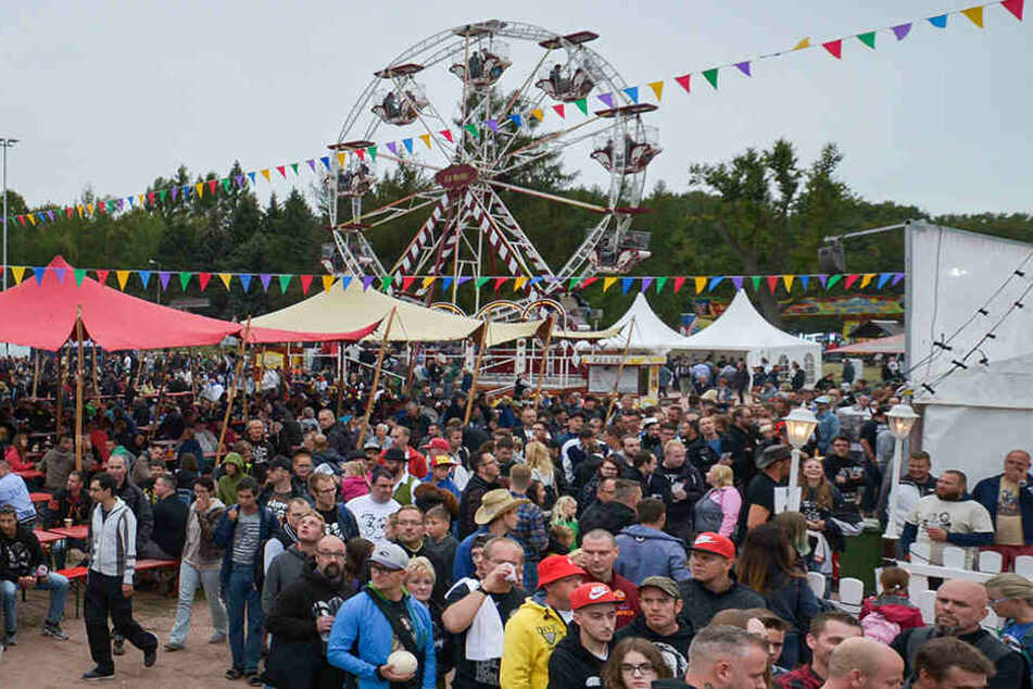 "Das ""SpencerHill Festival"" lockt Tausende Fans nach Lommatzsch."