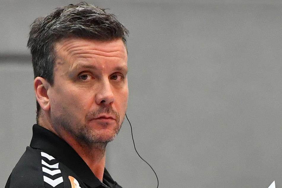 Alex Waibl, Trainer des Dresdner SC.