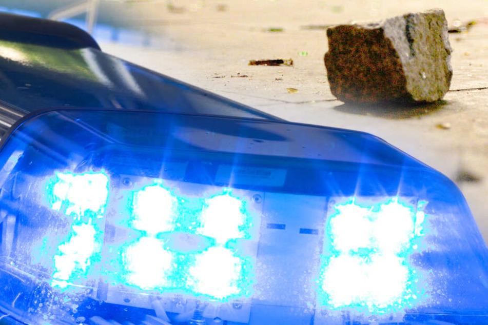 32-Jähriger schmeißt Rentner Pflasterstein mitten ins Gesicht: Schwer verletzt!