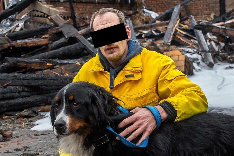 Ist Jack Wesley J. (40) wieder der gesuchte Brandstifter?