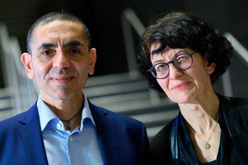Ugur Sahin (55) und seine Frau Özlem Türeci (54), die Gründer des Mainzer Corona-Impfstoff-Entwicklers Biontech.