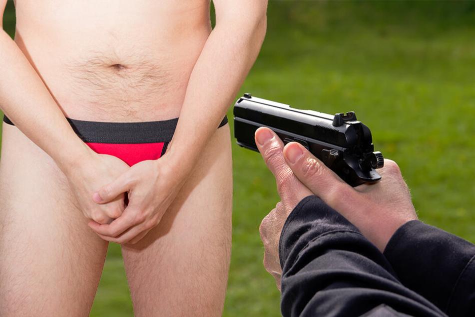 Dumm gelaufen: Mann schießt sich mit Knarre in Penis
