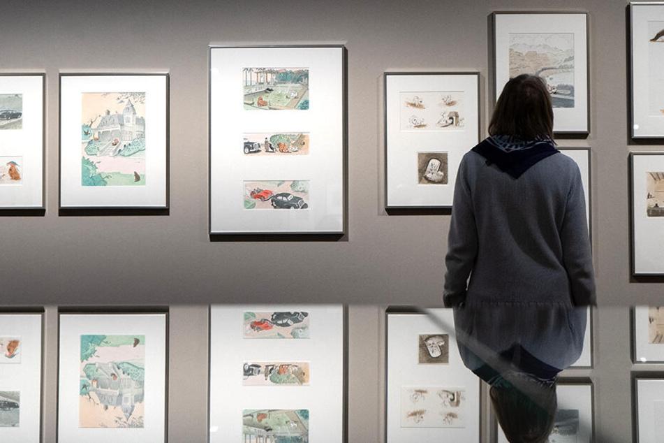 Einen Museumsbesuch für das erste gemeinsame Date hatten sich eine junge Frau und ihr jetziger Partner ausgesucht.