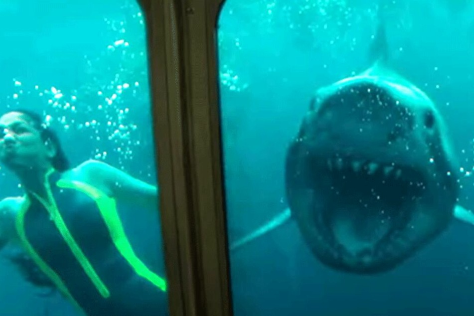 "Hai-Horror im Unterwasser-Labyrinth: Heftiger Trailer zu ""47 Meters Down: Uncaged"""