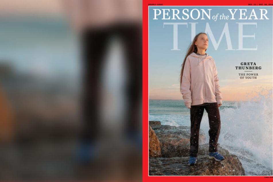 """Bis auf das Cover vom """"Time Magazine"""" hat es Greta Thunberg geschafft."""