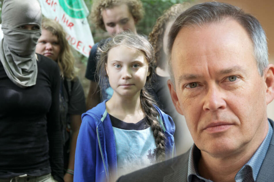 Er verteidigte Vermummte bei Greta Thunberg, jetzt bekommt er Gegenwind