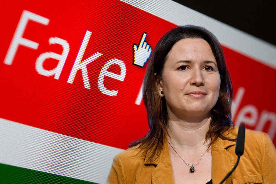 """Anja Siegesmund. Wird sie sich zu den """"Fake News""""-Vorwürfen äußern?"""
