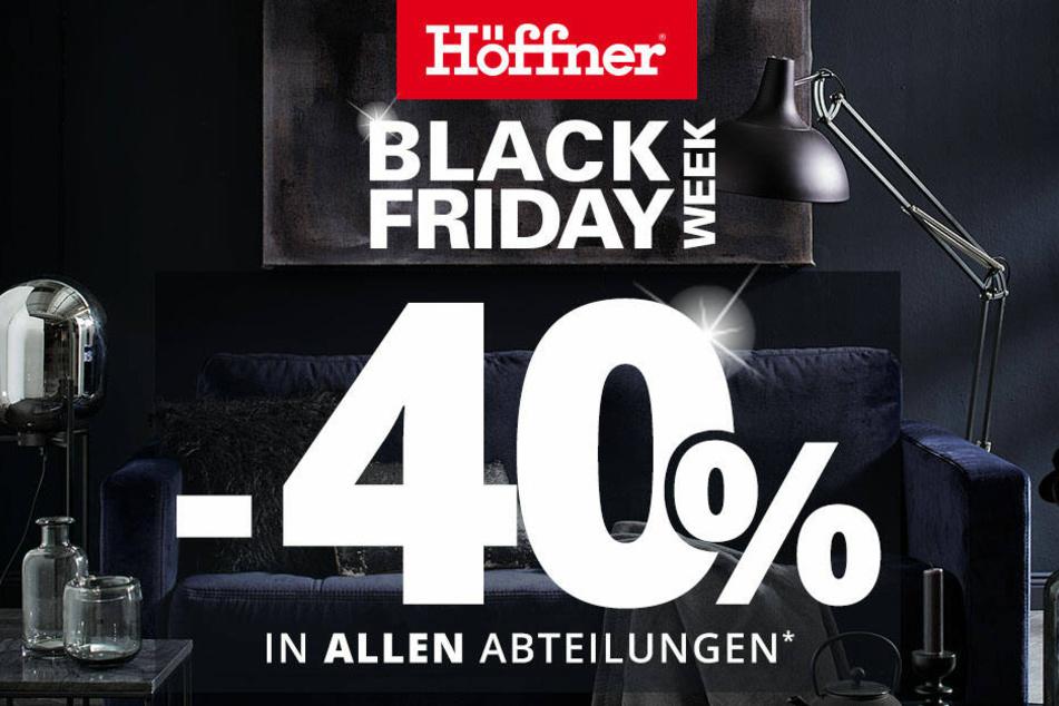 Black Week Bei Möbel Höffner Hier Warten Krasse Rabatte In