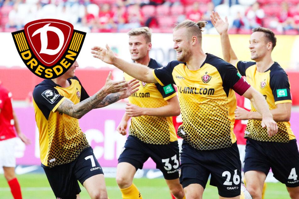 Dynamo-Willenssieg in Kaiserslautern! SGD kämpft sich in Unterzahl zum Dreier