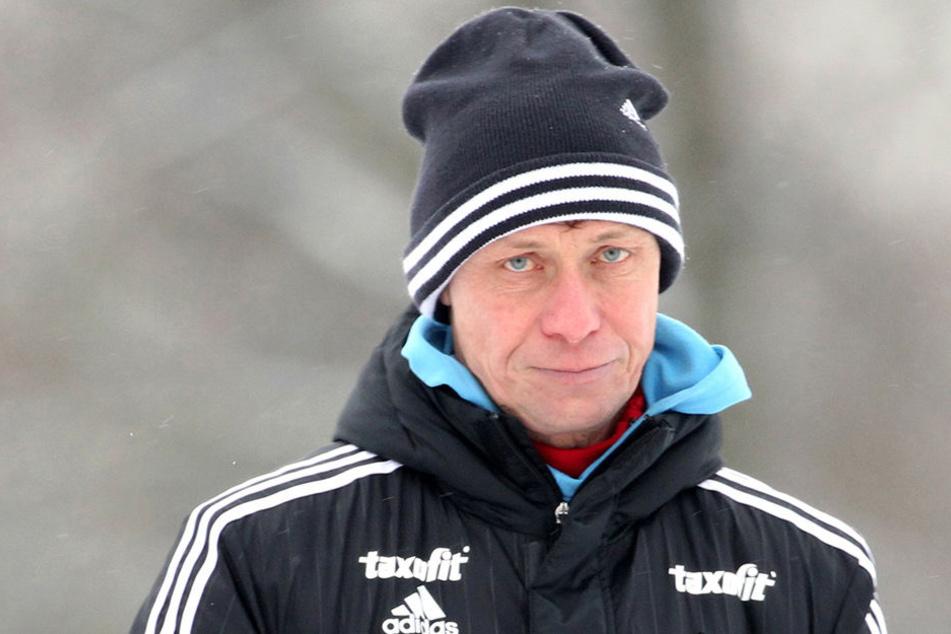 Trainer Sven Köhler geht nicht mehr davon aus, dass in der Winterpause neue Spieler nach Chemnitz kommen.